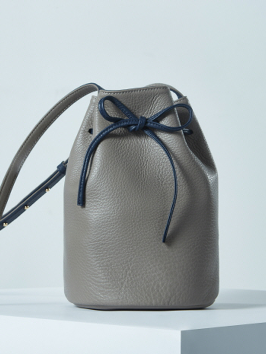 Bucket Bag - Galapagos Grey / Navy Blue